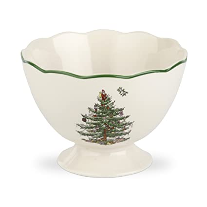 Spode Christmas Tree Sculpted Footed Bowl, 4.8-Inch - Amazon.com: Spode Christmas Tree Sculpted Footed Bowl, 4.8-Inch