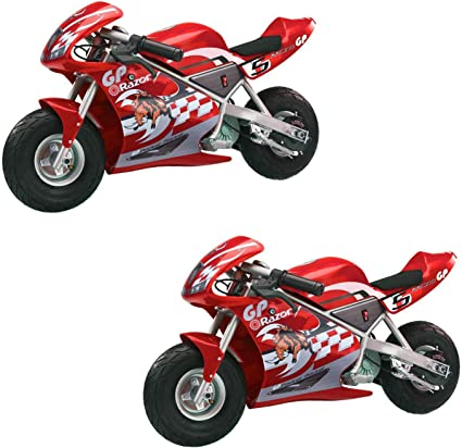 Amazon.com: Razor Pocket Rocket - Mini moto para niños, moto ...