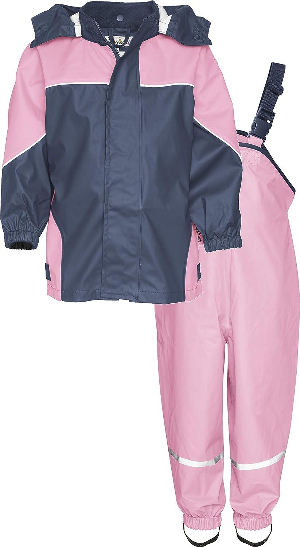 Matschanzug Regen-Set 2-farbig Playshoes Unisex Kinder Regenanzug