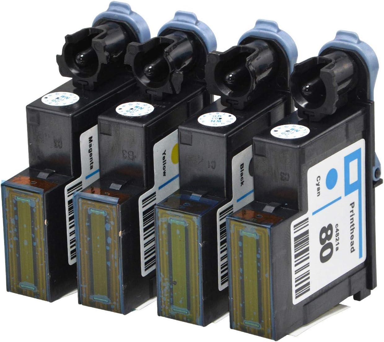 Cabezales de Impresora HP80 compatibles con Wenon, Repuesto para ...