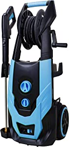 Workmoto Electric Power Washer, Pressure Washer 5200PSI 4.2GPM with Brushless Induction Motor, Hose Reel