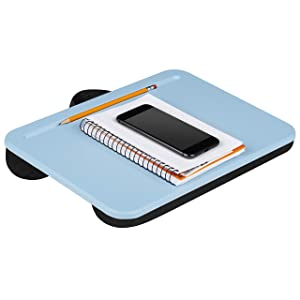 LapGear Compact Lap Desk - Alaskan Blue - Fits Up to 13.3 Inch Laptops - Style No. 43103