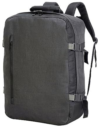 design de qualité 3a176 b2aaa Sac à dos valise cabine souple - 7720 - noir: Amazon.fr ...
