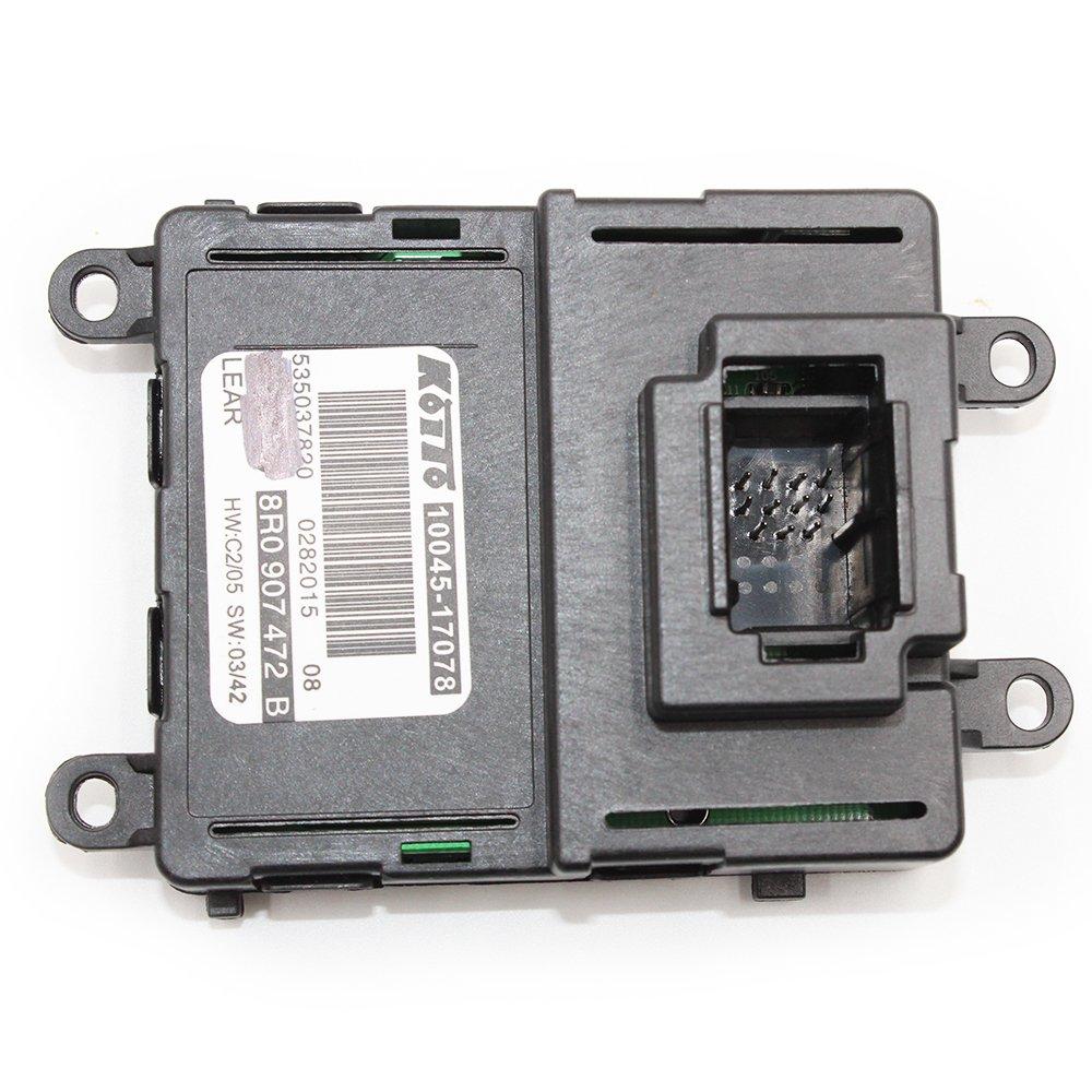 Koauto NEW 8R0907472B Audi Headlight Xenon LED DRL Control Module 11pins Audi Q5