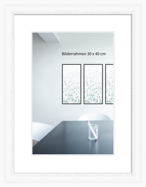 Holzrahmen Landhaus 10x13 cm gemasert weiß: Amazon.de: Elektronik