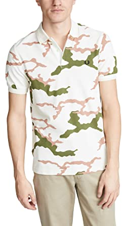 75e68022 Amazon.com: Fred Perry Men's Camouflage Pique Shirt: Clothing