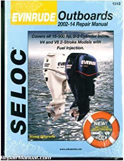 evinrude outboards 2002 12 repair manual all engines and drives