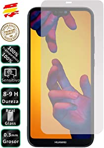 Movilrey Protector para Huawei P20 Lite Cristal Templado de Pantalla Vidrio 9H para movil