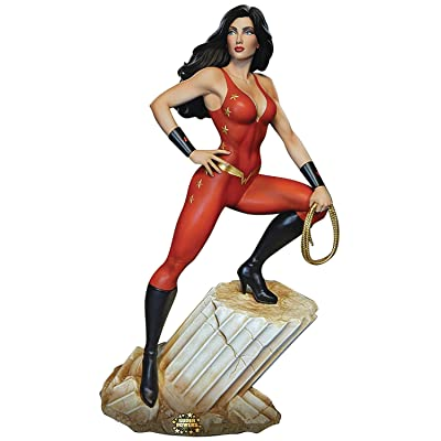 "Tweeter Head DC Super Powers Collection: Donna Troy 13"" Maquette: Toys & Games"