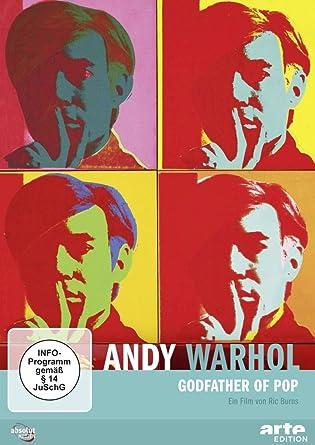 Andy Warhol Godfather Of Pop Amazon De Ric Burns Dvd Blu Ray