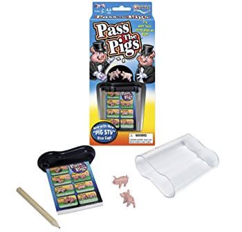 Winning Moves Games Pass The Pigs Dice Game