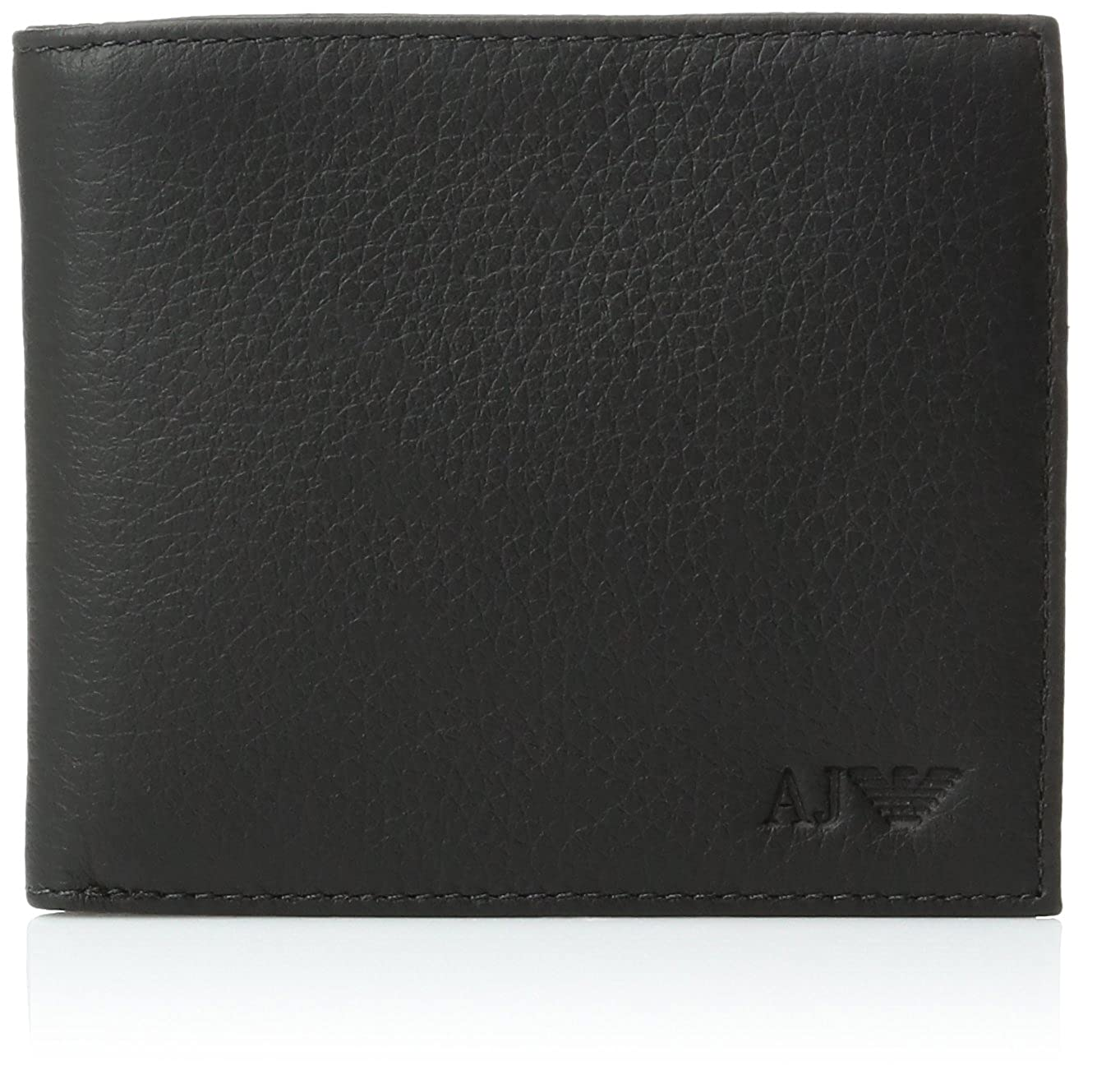 e4cfafca6b Armani Jeans Men's Genuine Leather Bifold Wallet 11x9x2
