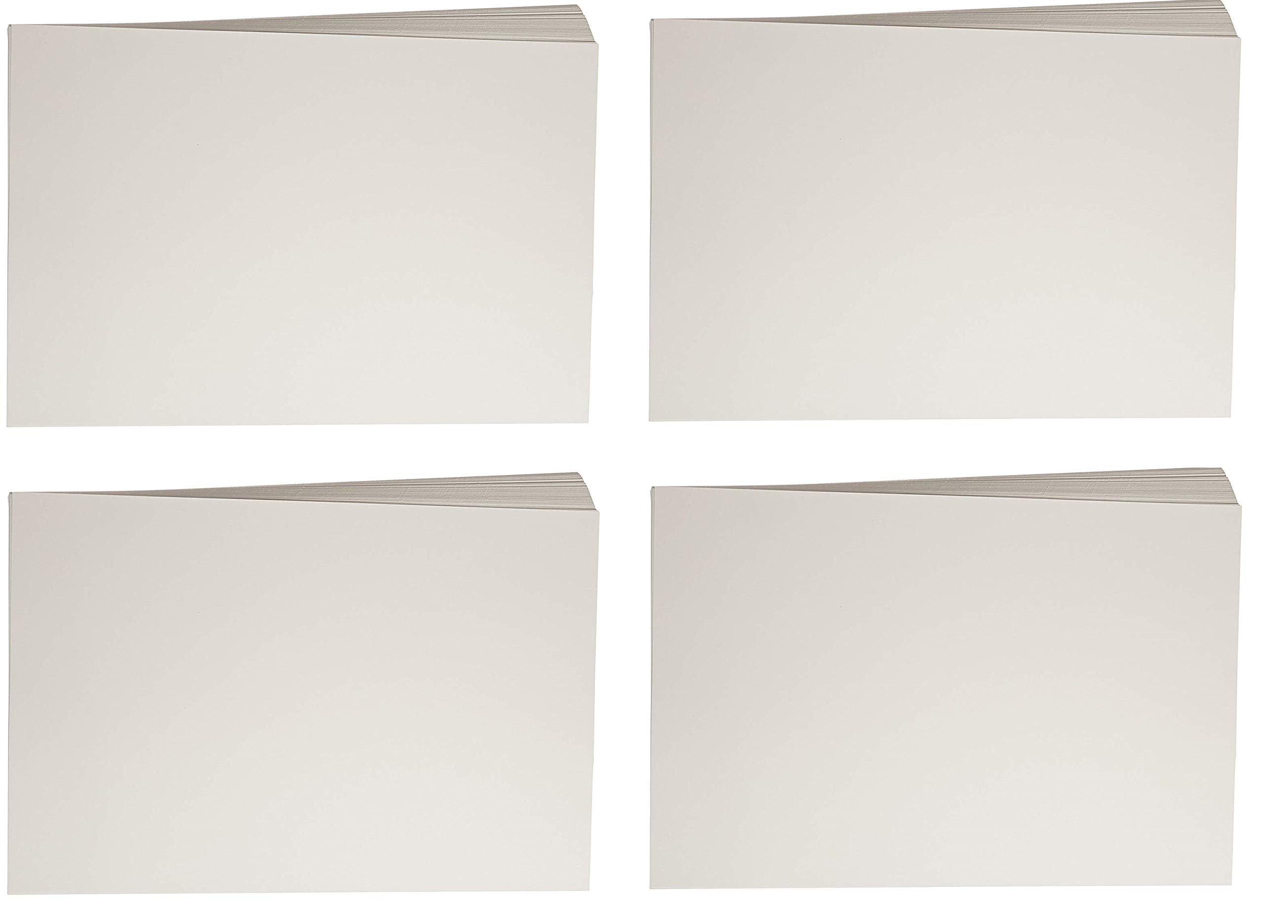 Sax Beginner Watercolor Paper, 12 x 18 Inches, 90 lb, Natural White, 100 Sheets (4 X 100 Sheets)