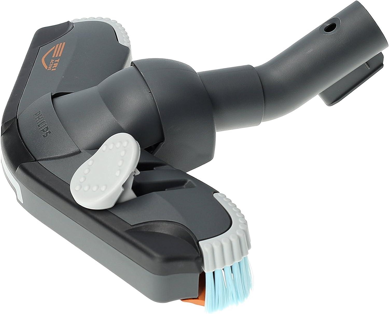 ✧WESSPER/® Brosse daspirateur pour Philips FC9102 Specialist Reach /& Clean /ø32mm, avec des roues