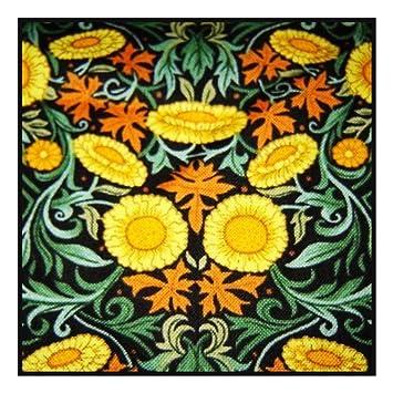 61ca641c3a03 Amazon.com: Orenco Originals William Morris Sunflowers Design ...