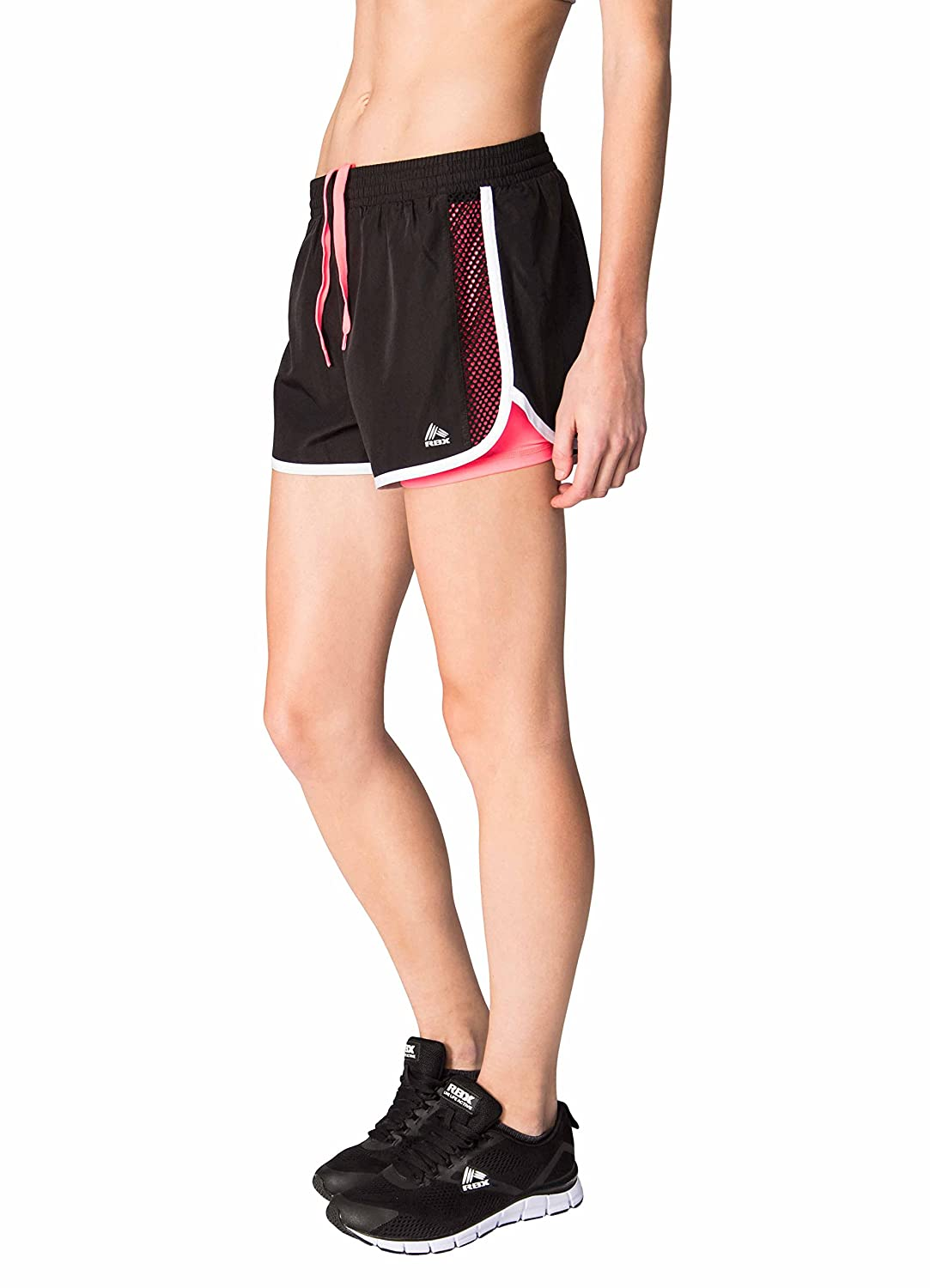 RBX SHORTS レディース B073RRX56G Large ピンク ピンク Large