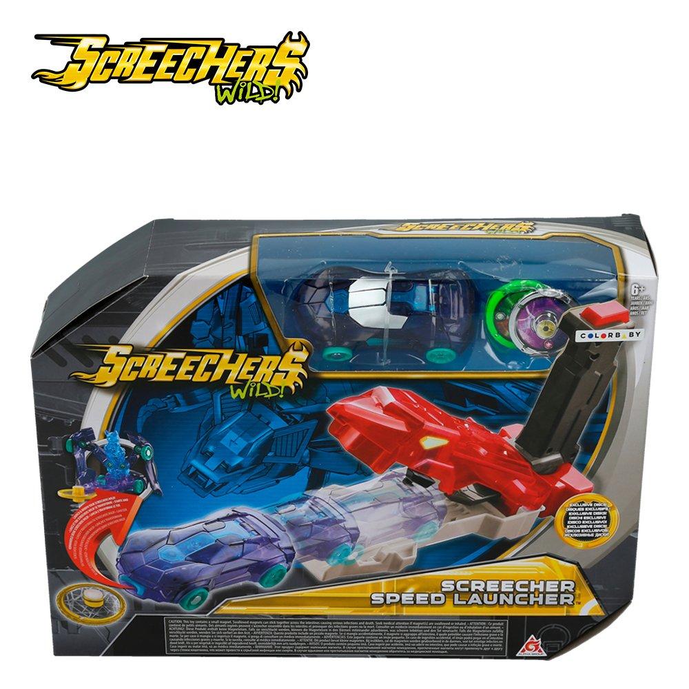 Screechers Wild - Speed Launcher - Lanza coches (Colorbaby 85276): Amazon.es: Juguetes y juegos