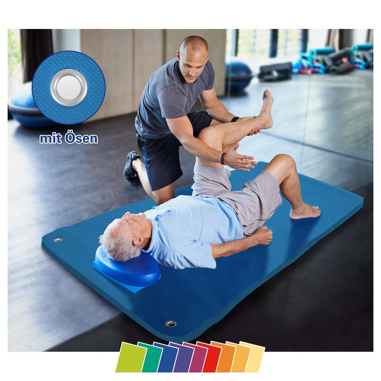 Sport-Tec Therapiematte inkl. Ösen, LxBxH 180x100x1,5 cm
