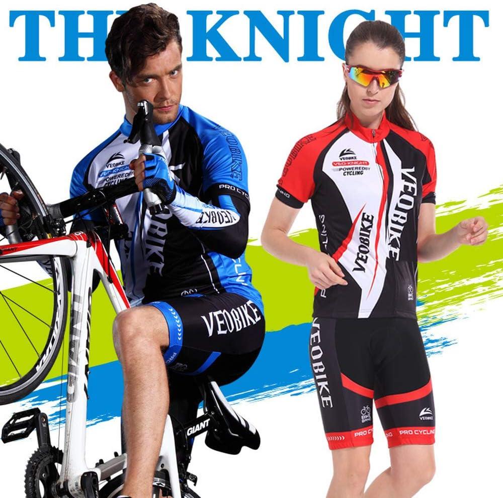 FCBF-Maillot De Ciclismo Summer Mountain Bike Maillot De Ciclismo Traje De Manga Corta Maillot De Ciclismo para Hombre Maillot De Ciclismo Y Pantalones Cortos Ciclismo De Deportes Al Aire Libre