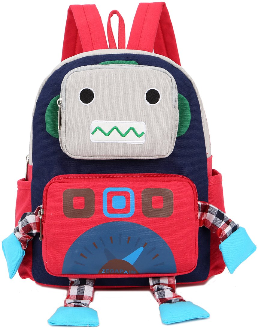 Sac A Dos Enfant Fille Robot Bambin Cartable Maternelle Garderie Harnais De SéCurité Havresac dshjqrlan