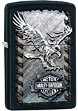Zippo Iron Black Matte - Mechero, color negro mate