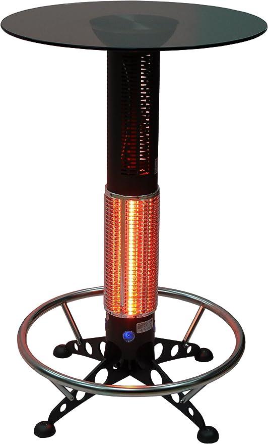 HotTable® mesa alta calefactora por infrarrojos de terraza ...