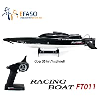 efaso FT011 - RC Brushless Racing Boot Feilun - 2.4 GHz 4-Kanal Rennboot mit 65 cm Rumpflänge