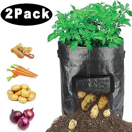 Amazon.com: HYRIXDIRECT - Bolsas de patatas portátiles de 10 ...