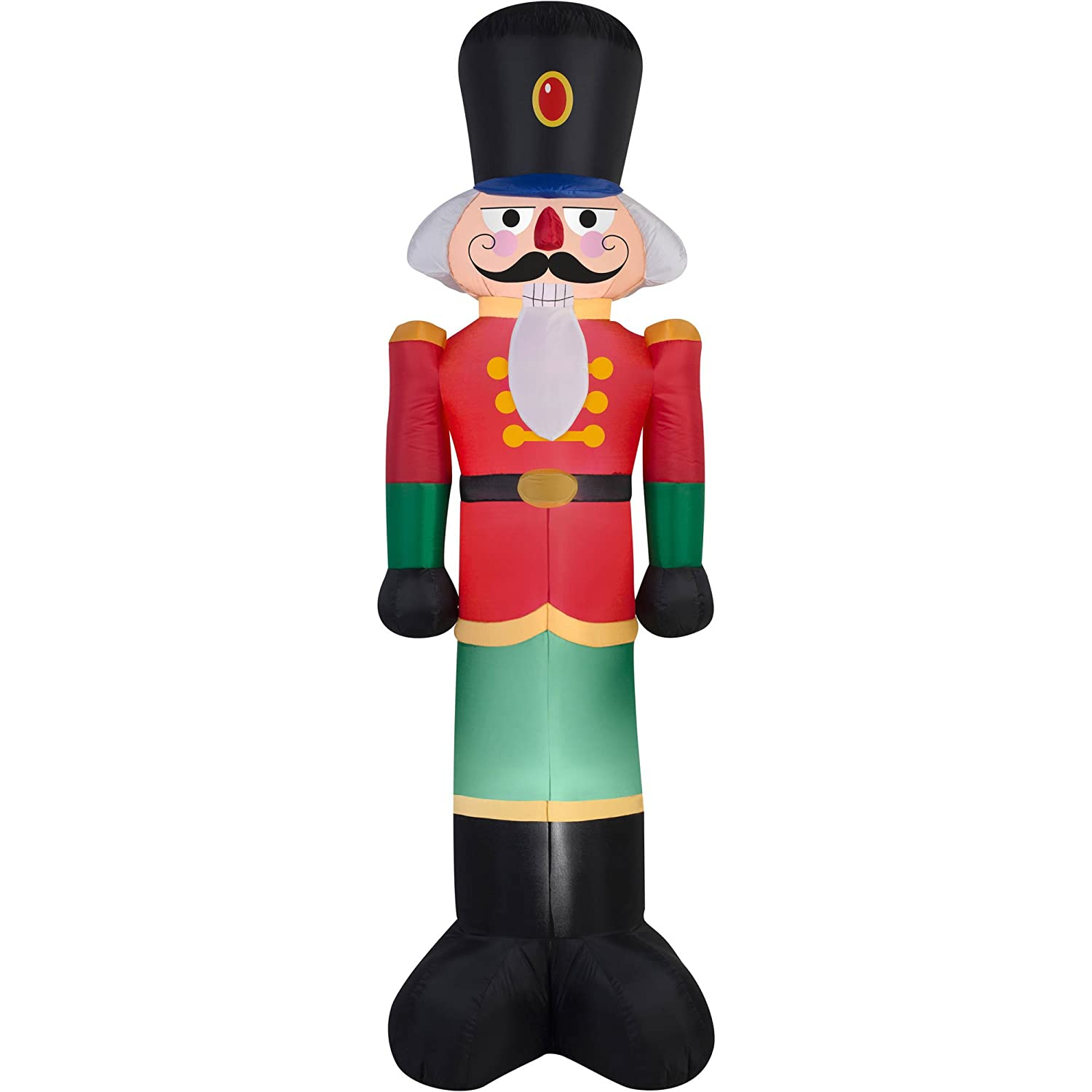 Amazon.com: Holiday Time Toy Soldier Nutcracker Holiday Inflatable 7 ...