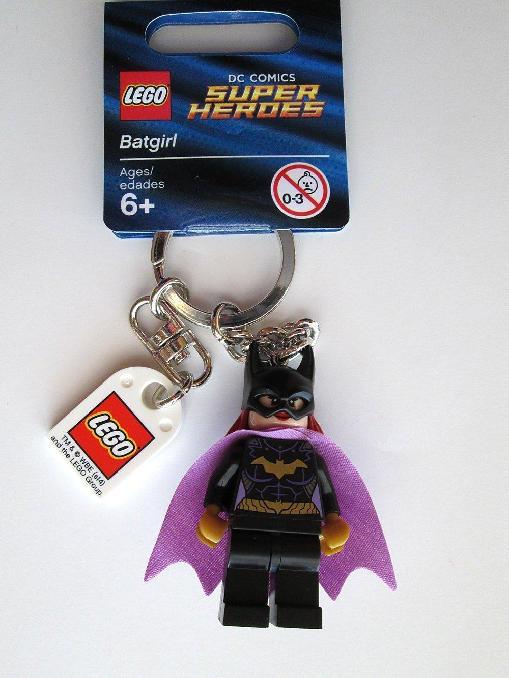 LEGO DC Comics Super Heroes Batgirl Key Chain Juego de construcción - Juegos de construcción (6 año(s))