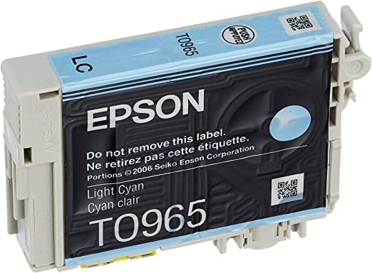 Epson T0965 Tintenpatrone Husky Singlepack Cyan Bürobedarf Schreibwaren