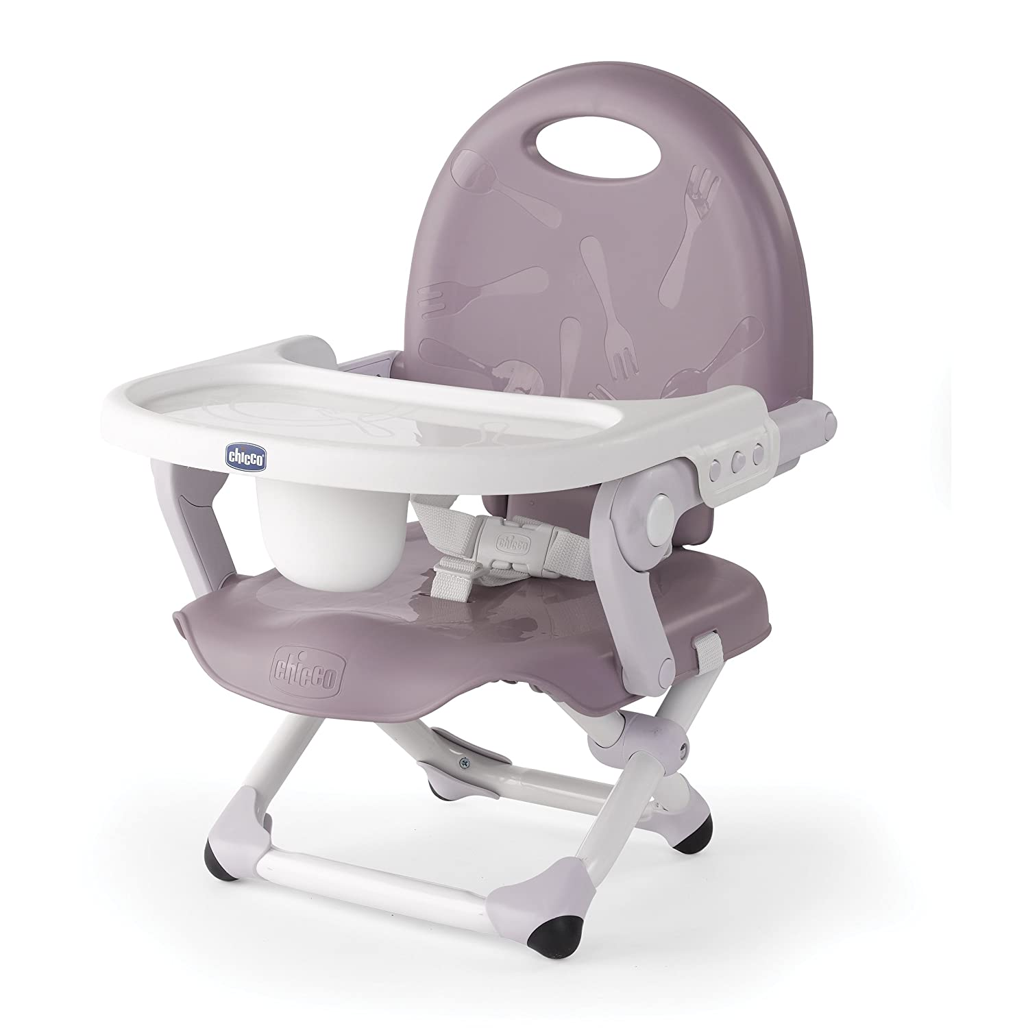 Chicco Pocket Snack Booster Seat, Stone 07079363230070