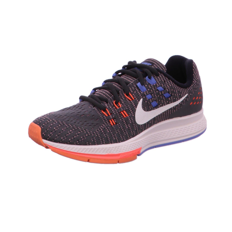 watch 25929 b83f5 Nike Women's Wmns Air Zoom Structure 19, ANTHRACITE/SAIL-HYPER ORANGE-CHALK  BLUE, 11 US