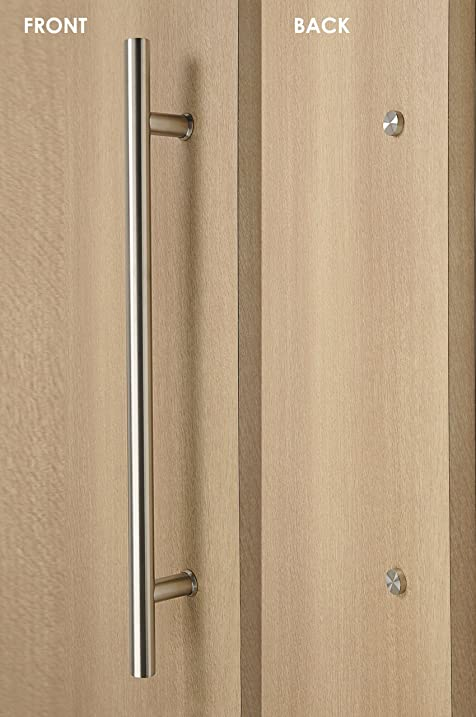 Great Modern U0026 Contemporary Single One Sided Stainless Steel Ladder Style Door  Handle For Wood