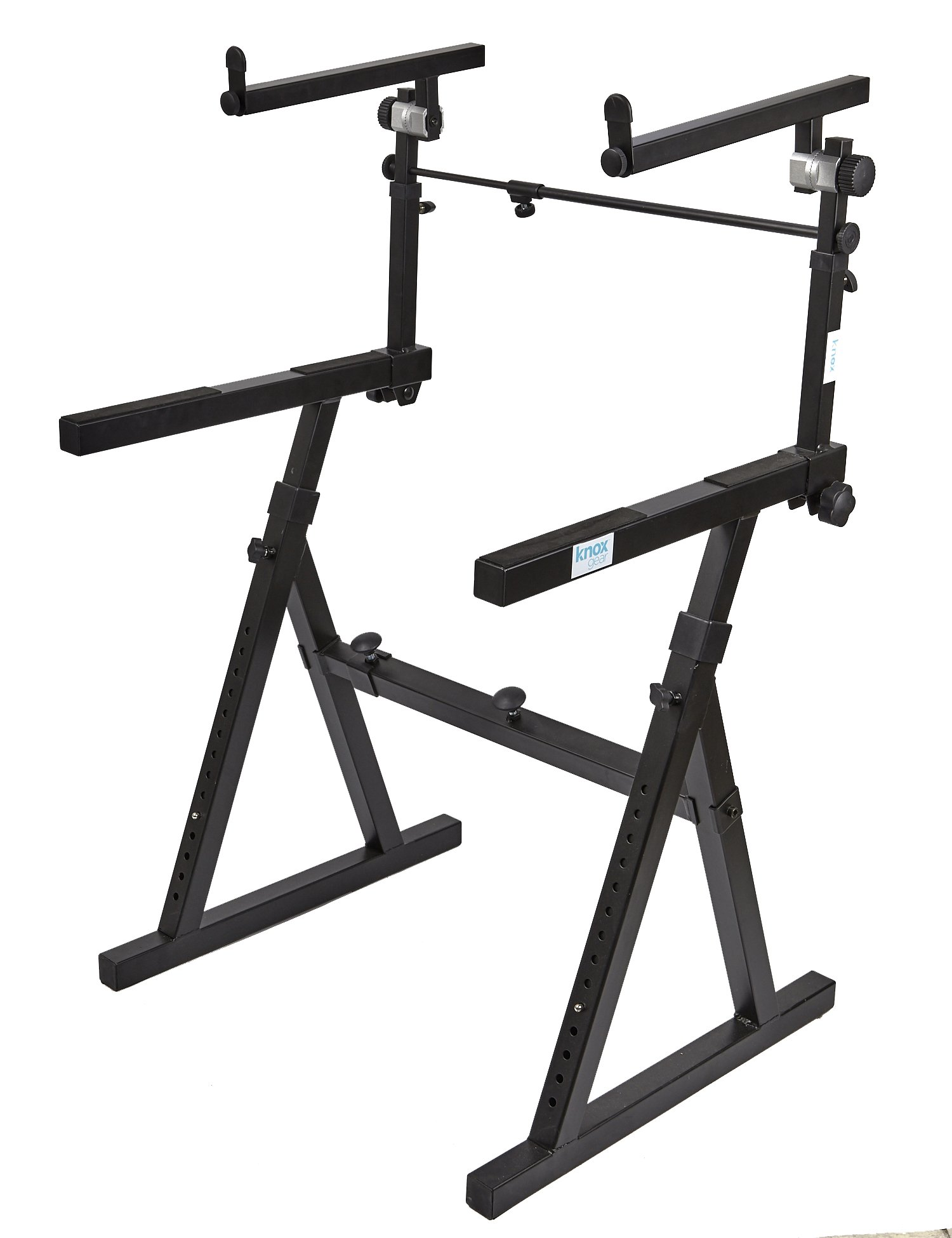 Knox Gear Z-Style Two Tier Electronic Keyboard Piano Stand