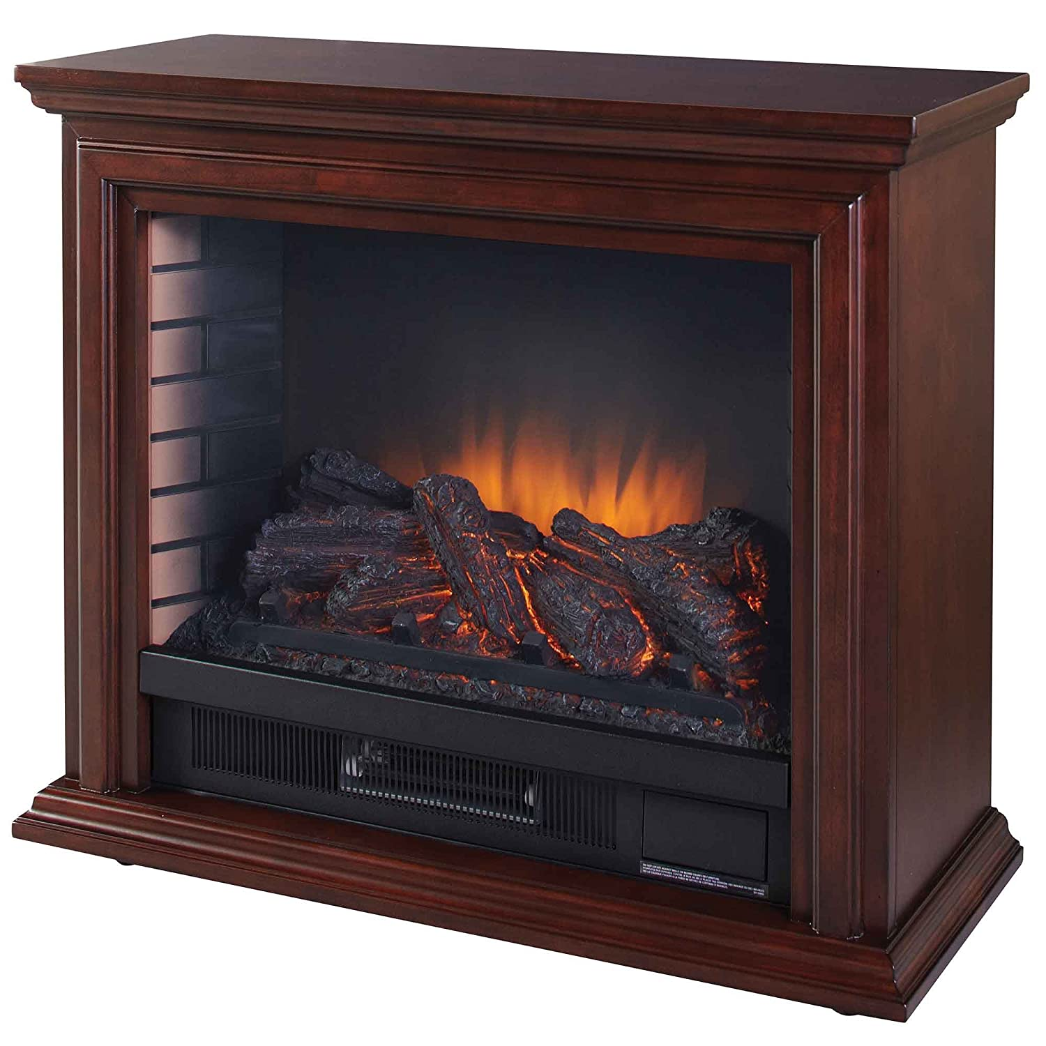 Amazon.com: Pleasant Hearth GLF-5002-68 Sheridan Mobile Fireplace: Home & Kitchen