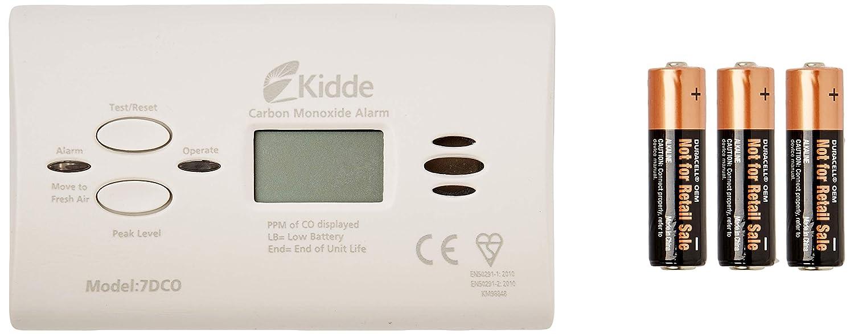 Kidde 10 Year Carbon Monoxide Digital Alarm - Carbon Monoxide Detectors - Amazon.com