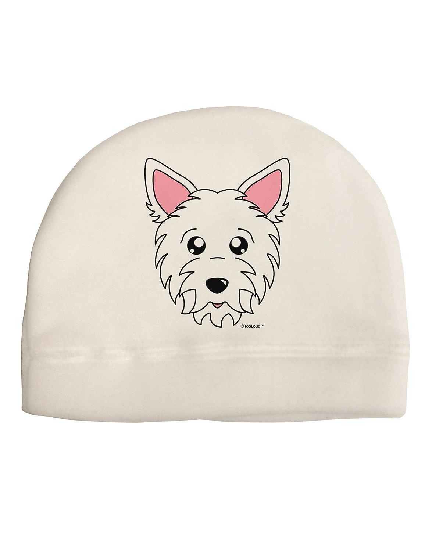 3d44f8cd881 Amazon.com  TooLoud Cute West Highland White Terrier Westie Dog Adult  Fleece Beanie Cap Hat  Clothing
