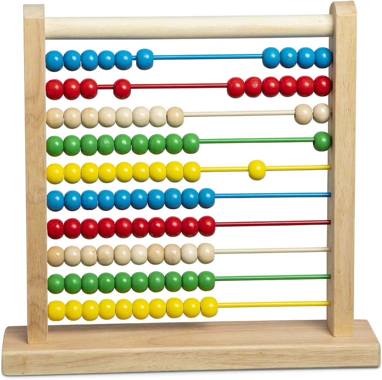 melissa and doug abacus math manipulatives for kindergarteners
