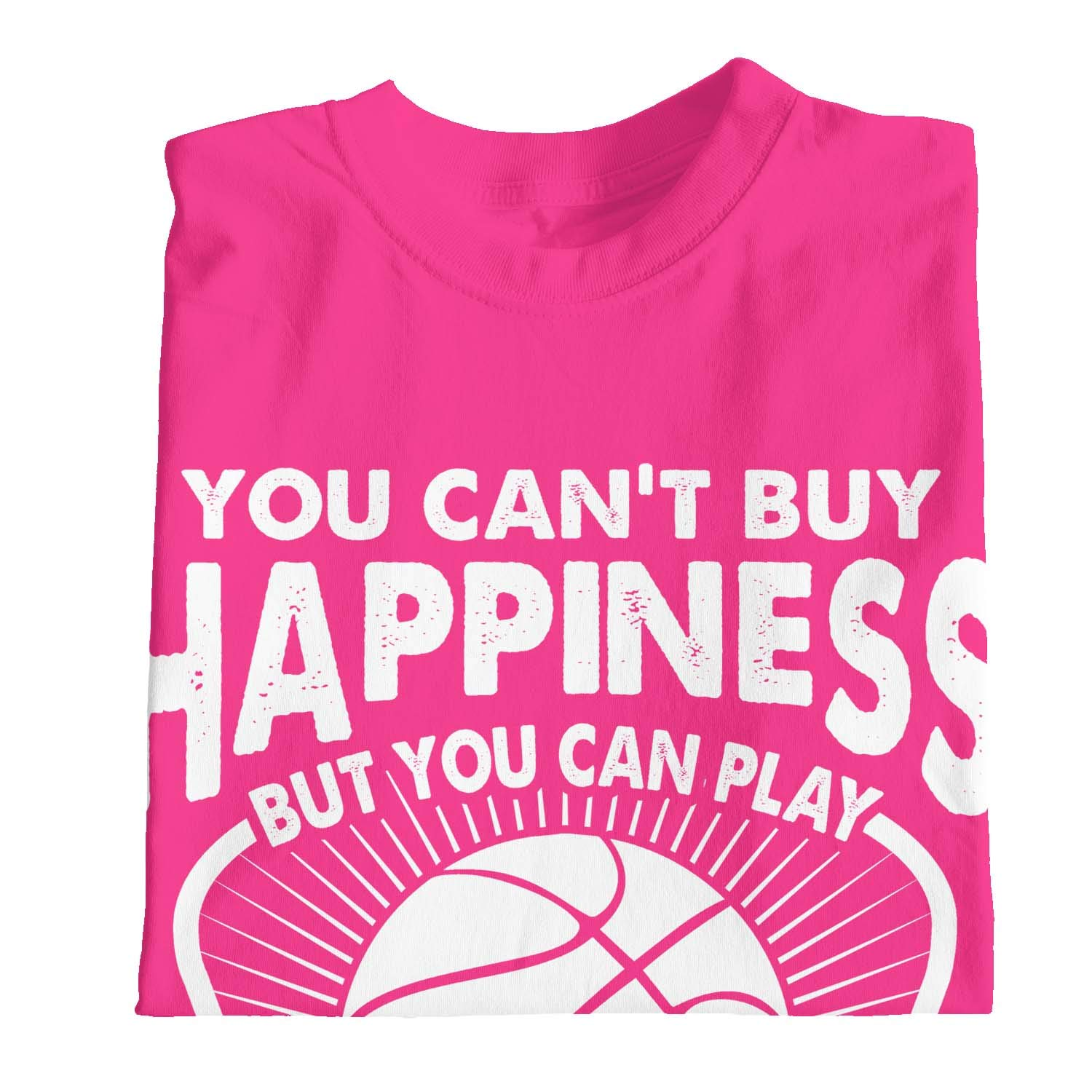 1Tee Girls You Cant Buy Happiness But You Can Play Maglietta da Basket