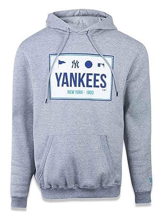 MOLETOM CANGURU FECHADO NEW YORK YANKEES MLB NEW ERA  Amazon.com.br ... 9491829fc0d