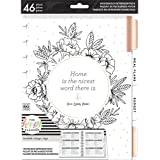 me & my BIG ideas Home Extension Pack - The Happy Planner Scrapbooking Supplies - Organizer for Household Duties - Plan Your
