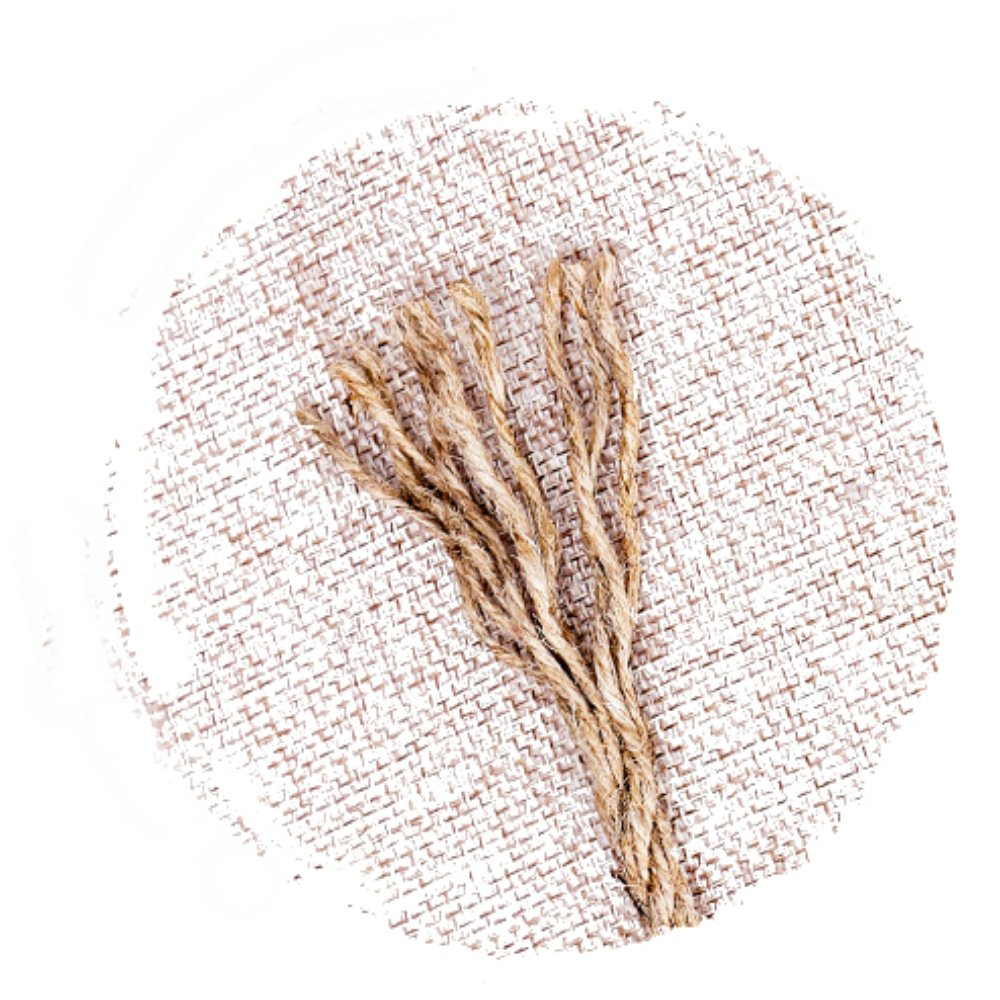 Jute Twine String Natural Ball 1,312ft 2mm for Craft Gardening Mason Home Lights Wine Presents Strings Twines Cores Durable for Packing Wrapping Ribbon Christmas Wedding Gift