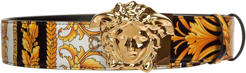 Versace hombre Le pop classique cinturón nero