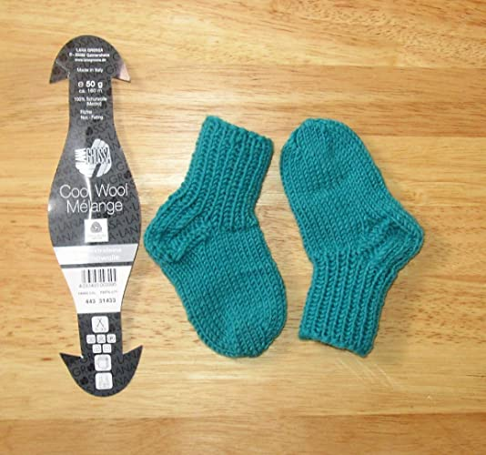 Calcetines/calcetines/tejidos a mano/zapatos/bebé/longitud única seleccionable/