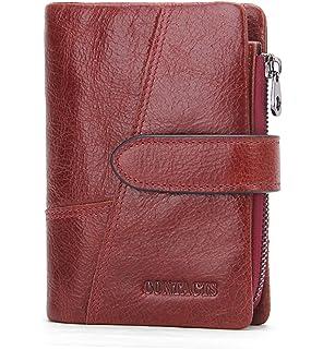 1ebf477b37 Contacts Portefeuille de porte-monnaie en cuir véritable porte-monnaie  d'embrayage (