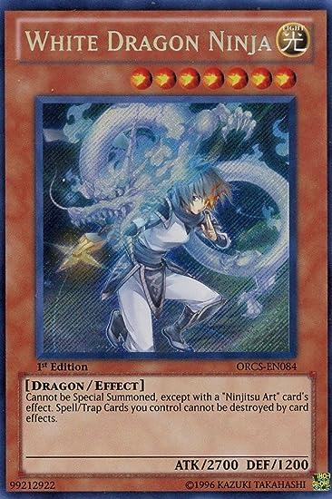 Amazon.com: Yu-Gi-Oh! - White Dragon Ninja # 84 - Order of ...