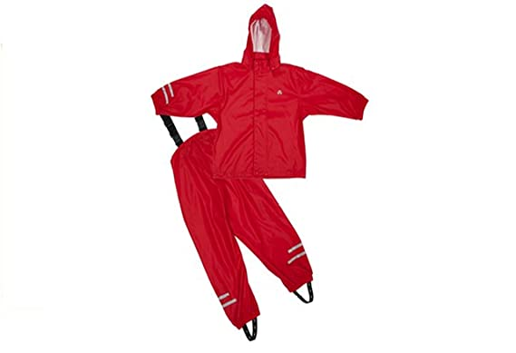 Unbekannt Elka traje para lluvia Pantalones + chaqueta para niños ...