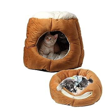 Amazon.com: ShJMx - Cama plegable 2 en 1 para perro, gato ...