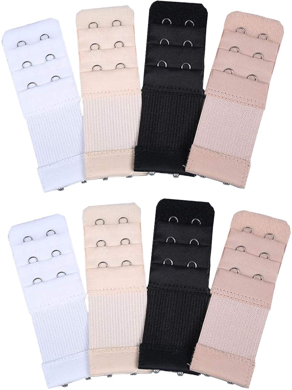 a7373f8895623 JUST BEHAVIOR Low Back Bra Strap Converter Adjustable Bra Strap Extender  Bra Strap Clip for Backless Dress.  5.71. Kcxsy 2 Hooks 3 Rows Bra Extender  Elastic ...